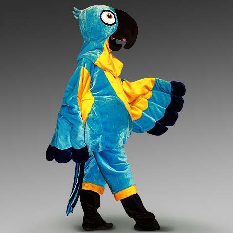 Ростовой костюм (ростовая кукла) попугая Рио
