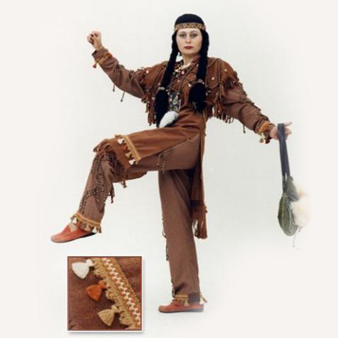 Костюм индейца (Скво) 2100 450