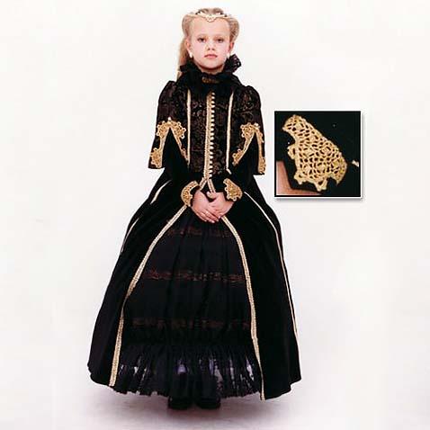 Карнавальный костюм Королевы Англии
