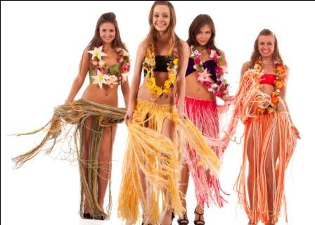 Костюмы гавайские