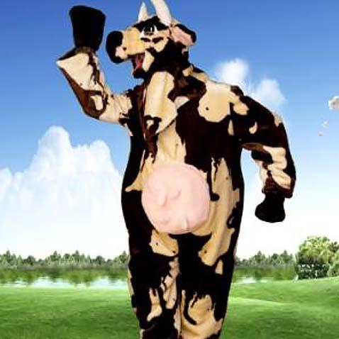 Ростовой костюм (ростовая кукла) Корова