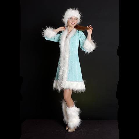 Костюм карнавальный Снегурочки
