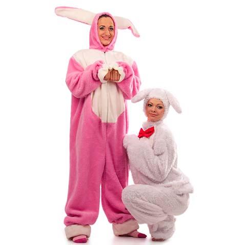 Карнавальные костюмы зайцев
