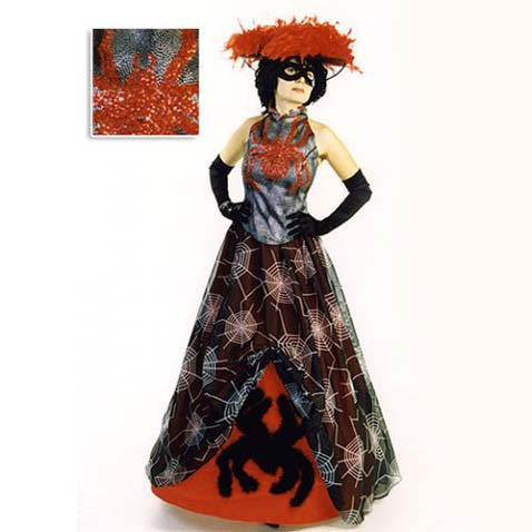 Карнавальный костюм женщины-паука
