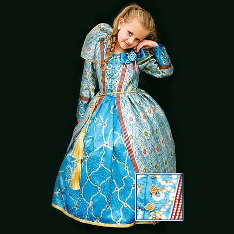 Карнавальное платье принцессы